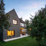 Haus B, Smartvoll Architekten, Bauen im Bestand, Abend