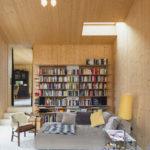Haus B, Smartvoll Architekten, Bauen im Bestand, Wohnzimmer