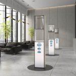 Hygiene-Stele von Sieger Design