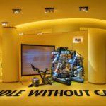 Verkaufsfläche für Koffer von Crash Baggage in Shanghai