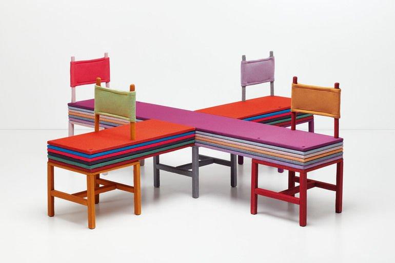 Ausstellung Knit! by Kvadrat