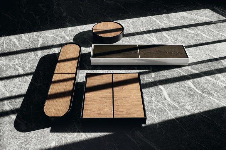 Wohnmöbel Tischserie