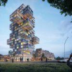 Hochhaus von MVRDV in Kiel