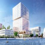 Hochhaus von MVRDV in Hamburg