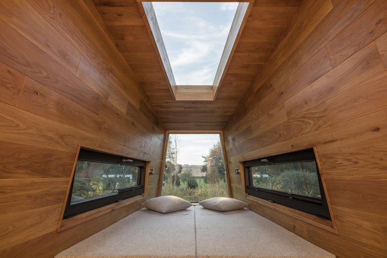 tiny house auf d chern und r dern traumhaus baumhaus md mag. Black Bedroom Furniture Sets. Home Design Ideas