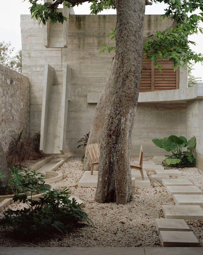 Betonwand, Casa Merida, Ludwig Godefroy
