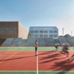 SOA Architekten, Grundschule Amos, Sportplatz