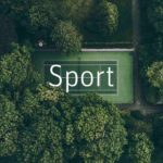 Sportplatz von oben