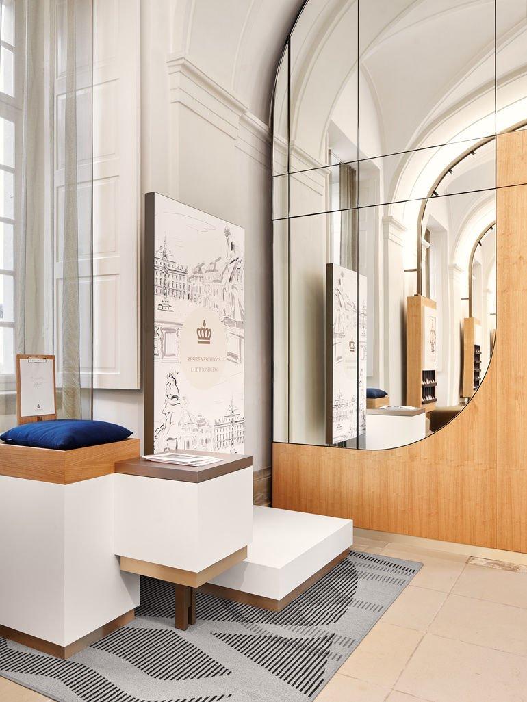 Studio Komo, Besucherzentrum, Schloss Ludwigsburg