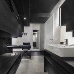 Reuter Schoger Waschbecken, Kofferablage, Schreibtisch, Stuhl, Ankleide