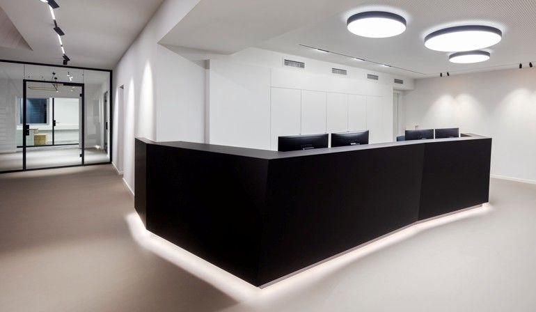Delta Light, Empfangstresen, Headquarter