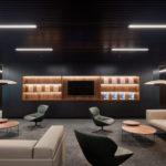 Lounge für Mitarbeiter.
