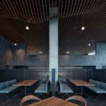 Ein weiterer Teil des Cafés Rustonka.