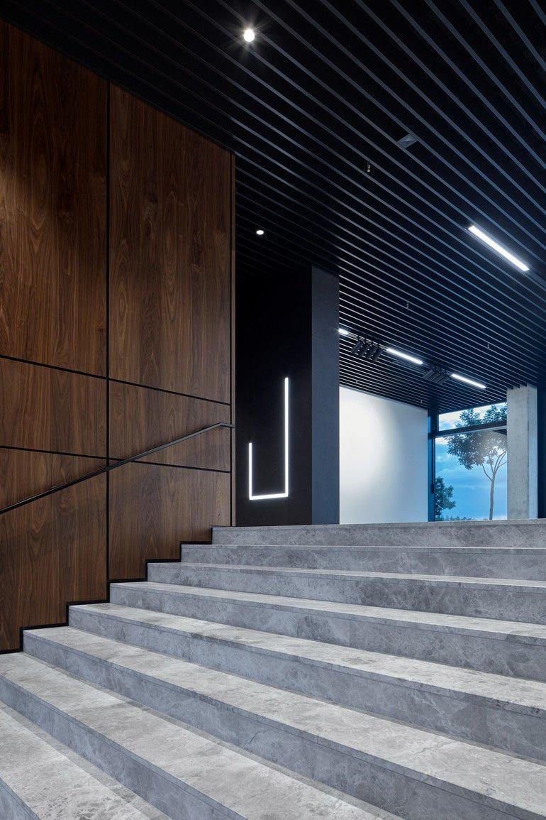 Treppe im Hauptzugang