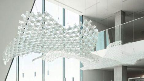 Gewinner beim German Innovation Award: handgefertigte Leuchte