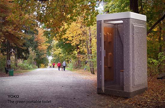 Yoko - Die mobile Toilettenkabine