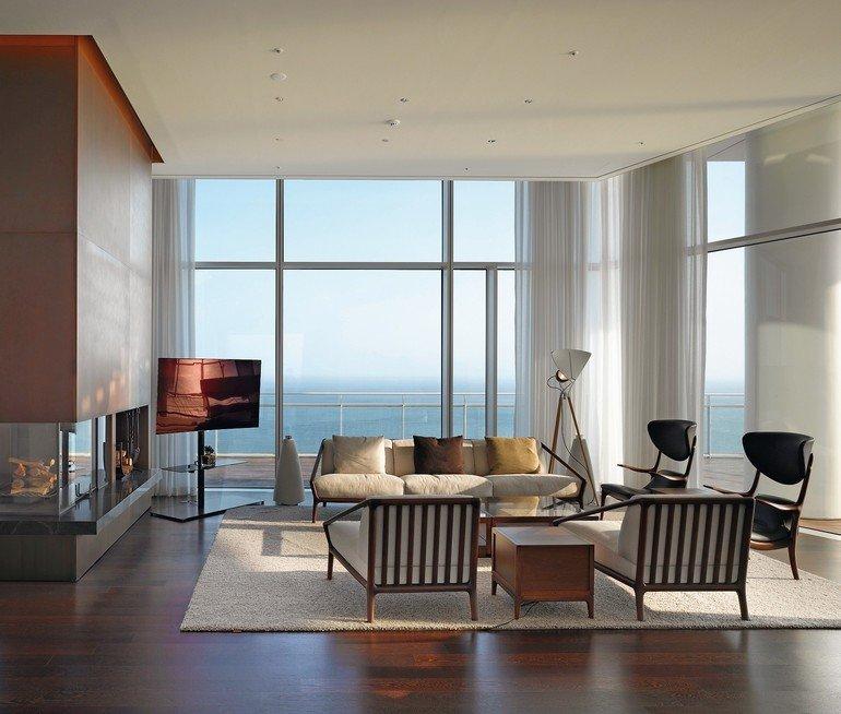 Wie Die Einrichtung Insgesamt, So Zelebriert Auch Die Suite Im 15. Stock  Den Internationalen Stil. Foto: Roland Halbe