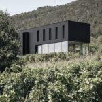 Nachhaltige Bauweise, Das Haus integriert sich perfekt in die Umgebung. Foto: Steinbauer Architektur+Design