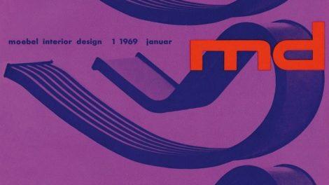 md-Cult-Serie, Schaukelliege 'Dondola', md-Cover, Thomas Wagner, 1960er, Designgeschichte