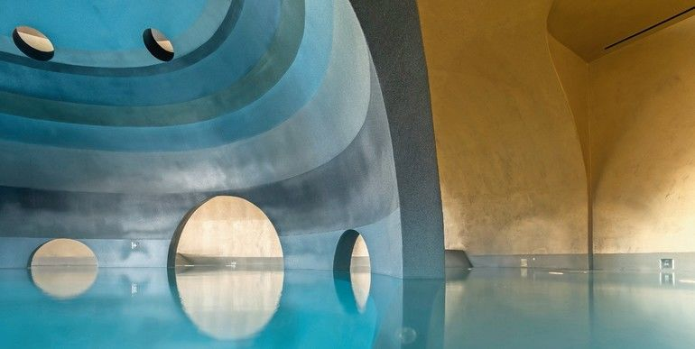 Euphoria Retreat Spa, Pool, Farbe, Kuppelgewölbe