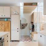 IFUB*, Hausfuchs, Treppenanlage, Gerüst, Bestandsmöbel, Küche