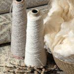 Naturfaser Wolle Dansk Wilton Spule Teppich Rohwolle