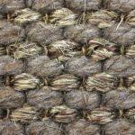 Naturfasern Sisal Wolle Gewebe
