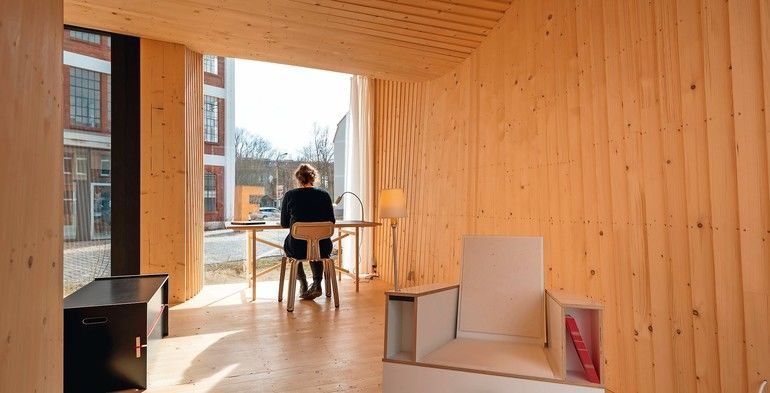 Mikrohaus, Timber Prototype House