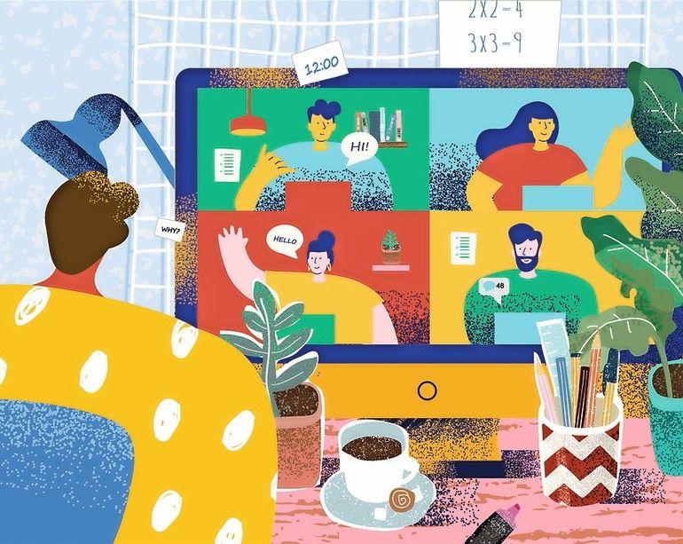 Bildungssystem-homeschooling-digitale lehre