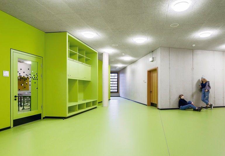 Clustermitte einerFarbkonzept für eine Jahrgangsstufe in der Realschule: der Bildungslandschaft Altstadt-Nord