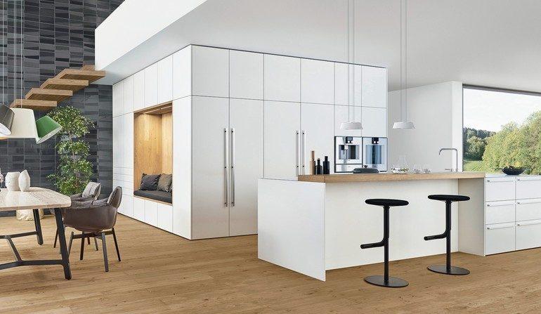 AuBergewohnlich Konzept Des Begehbaren Raums Bei Leicht Küchen. Küchenarchitektur   Md Mag