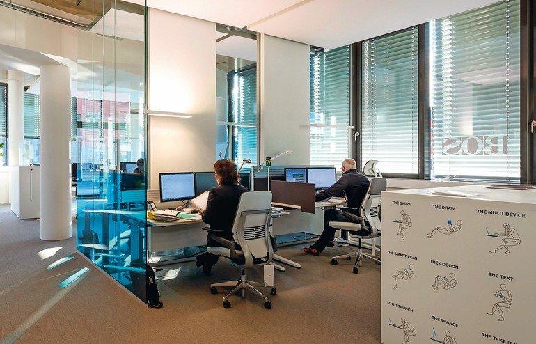 Büroplaner Bos Bietet Mitarbeitern Und Kunden New Work Md Mag