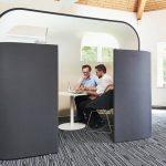 Gute Raumakustik, Akustisch abgeschirmte Besprechungszone von Preform GmbH