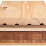 Holzfußboden, Aufbau, Diele, Parkett, Holzpflaster