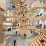 Lichtkonzept, ALL Atelier, Norwegen, Rathaus, Bürolandschaft