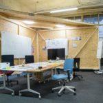 Coworking Spce mit ergonomischen Bürostühlen