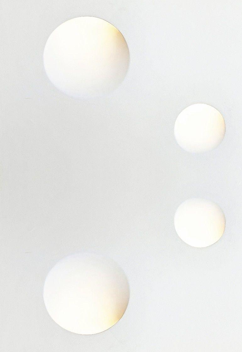 Licht aus der Wand