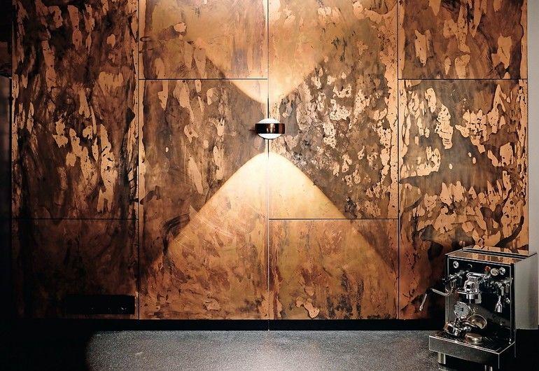 küchenwand aus Kupfer von Material id