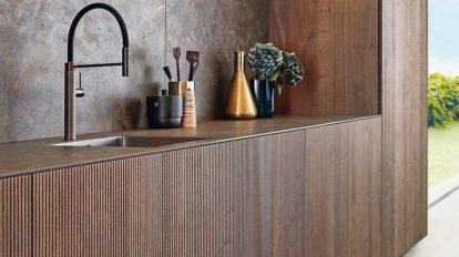 Holzküche von Leicht, Küchengestaltung