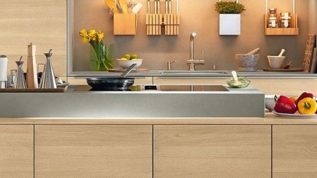 Holzküche von Team7, Küchengestaltung