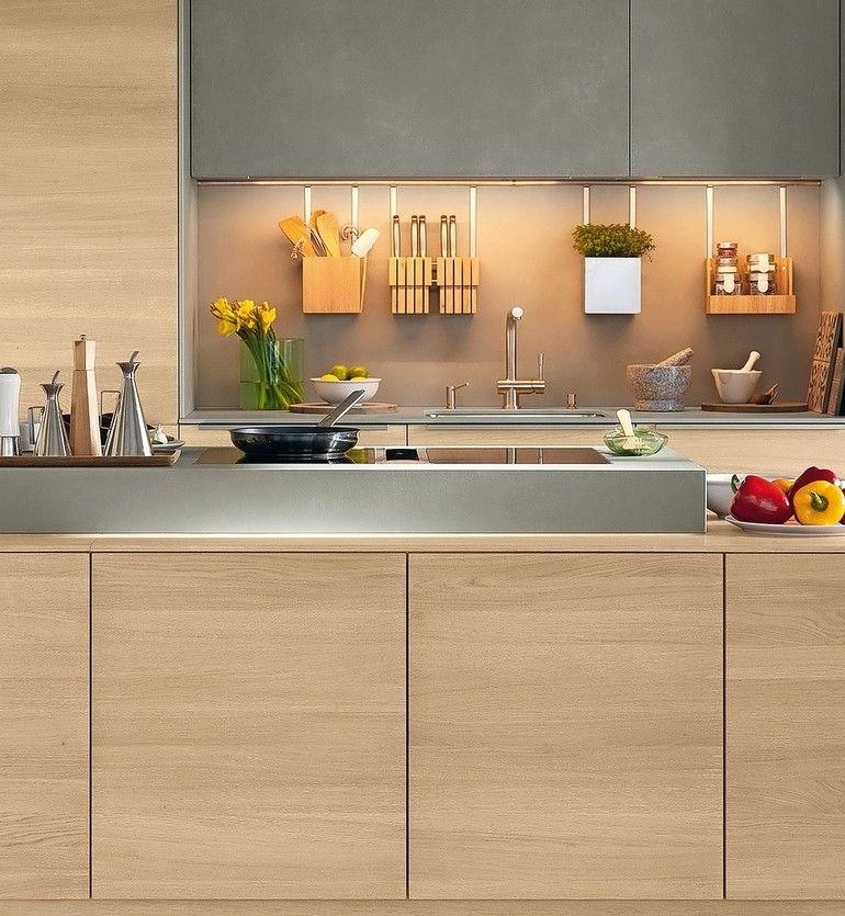 Küchengestaltung mit Holz von Team7