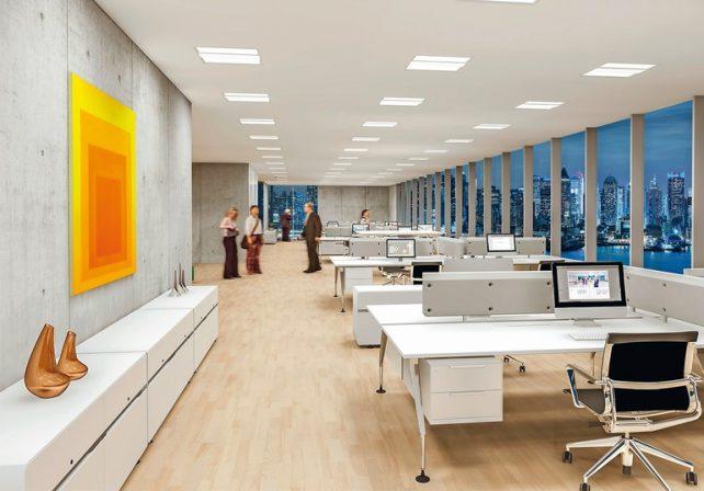 Licht Büro bio licht fürs büro human centric lighting md mag