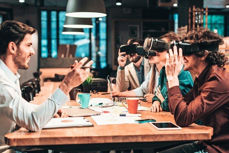 Work On The Go Mobiles Buro Und Die Zukunft Der Arbeit Md Mag