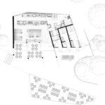 Belvedere, Wilhelma, Interior, Ippolito Fleitz, Innenarchitektur, Cafe, Bistro, Hospitality, Zoo, Bewirtung, Plan