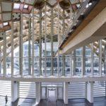 Holzbauwerk, Shigeru Ban