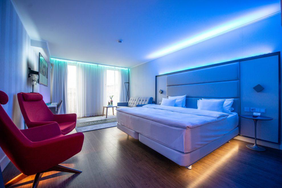 Hotelzimmer der Zukunft