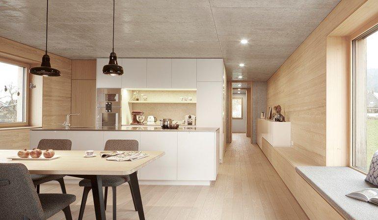 Schmale Häuser häuser nach mass der optimale grundriss md mag