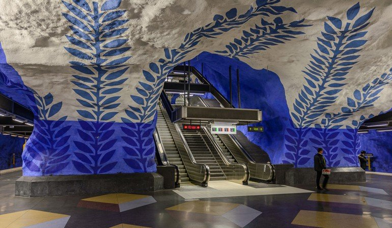 Metro stockholm kunst f 252 r alle md mag for Bachelor of arts innenarchitektur
